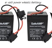 6 volt power wheels battery