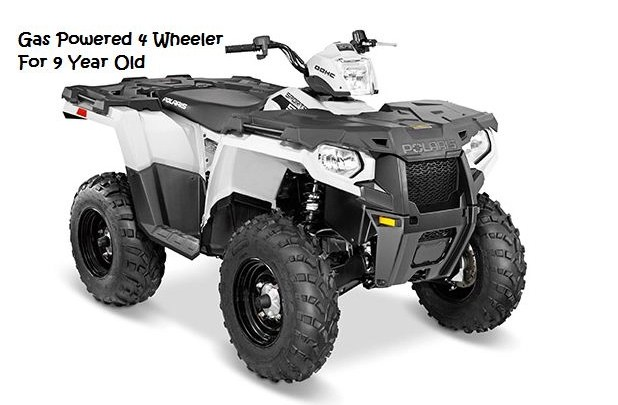 Gas Powered 4 Wheeler For 9 Year Old