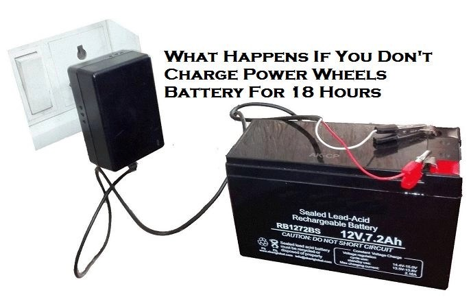 Power Wheels battery not charging