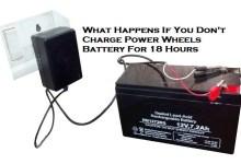 Power Wheels battery not charging