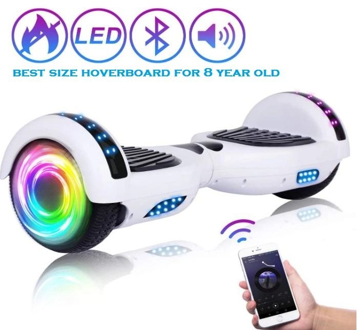 best size hoverboard for 8 year old