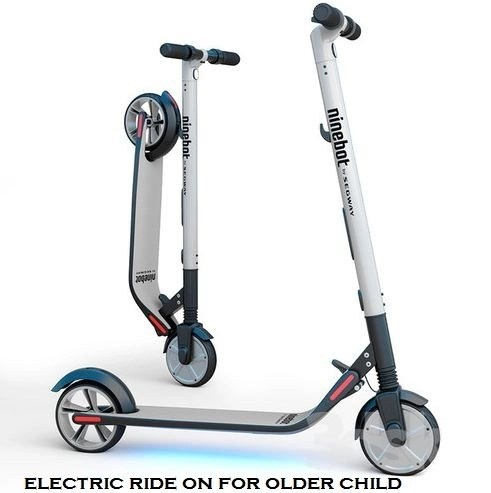 electric ride on for older child