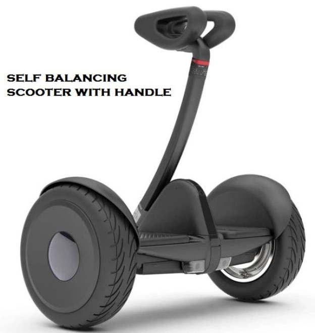 self balancing scooter with handle