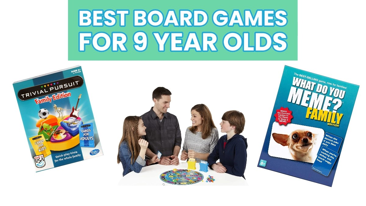 Best Board Games For 9 Year Olds