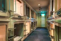 Intriguing Capsule Hotel Accommodation
