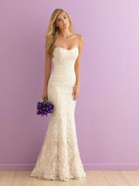35 Inspirational Ideas of Simple Wedding Dresses
