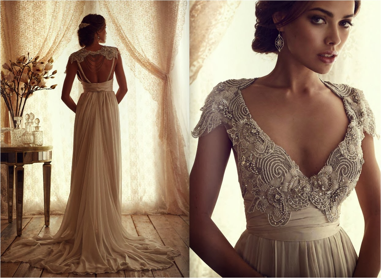 25 Astonishing Vintage Wedding Dresses From Modern Wedding