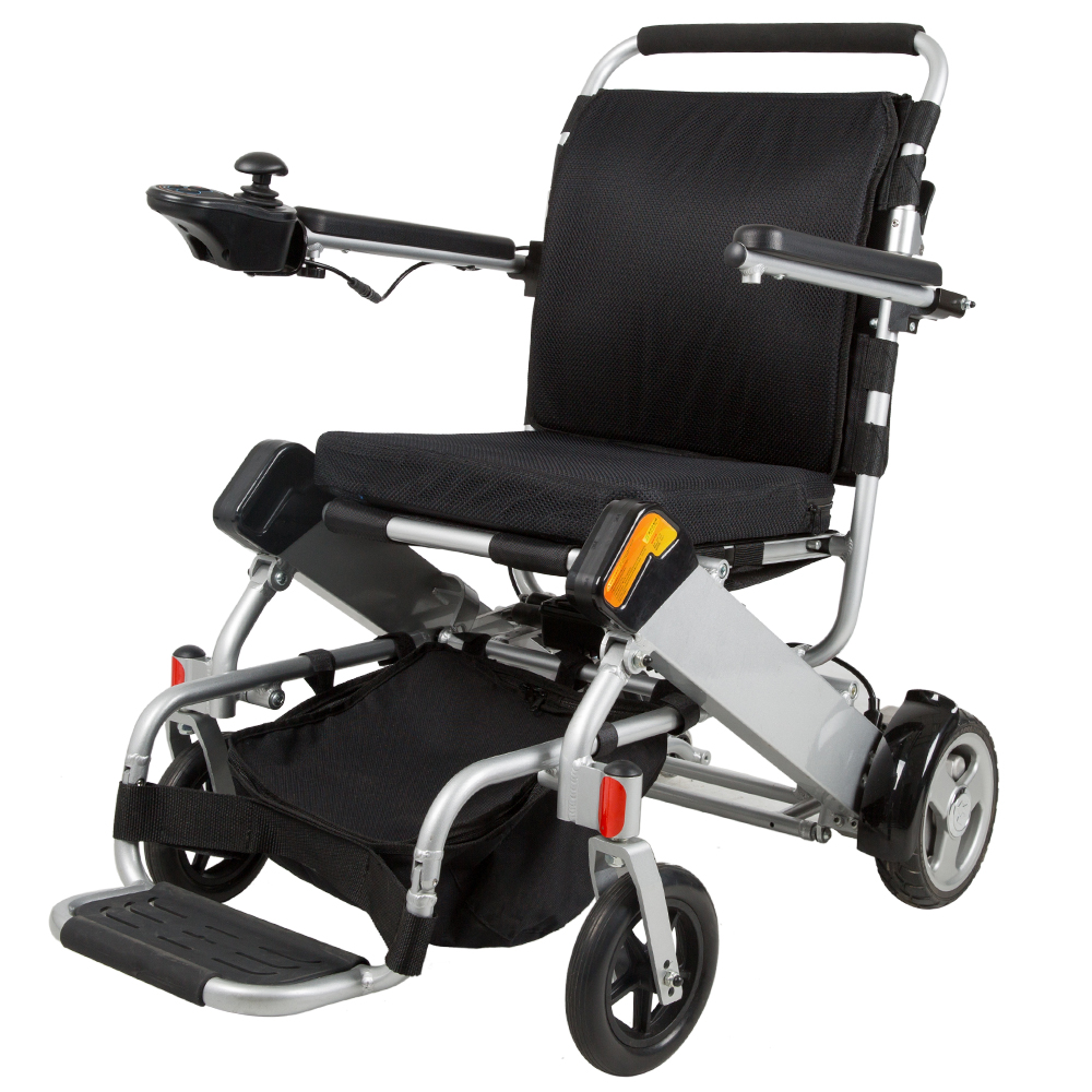motorized wheel chair small upholstered electric wheelchair intellichair