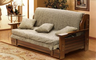 Contemporary wooden sofa 2nd version ...