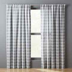 Cafe Curtains For Kitchen Cabinet Door Moulding Blue Plaid | Thebestwoodfurniture.com