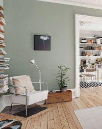 Sage Green Living Room