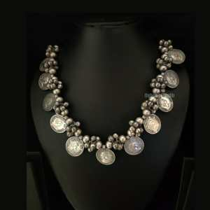 Coin Silver Look Alike necklace