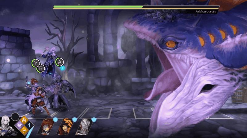 Fallen Legion: Review Whale Battle outside castle for Lucien