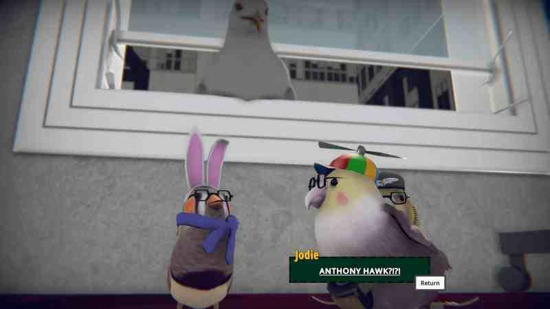 SkateBIRD Review - Tony Hawk Reference