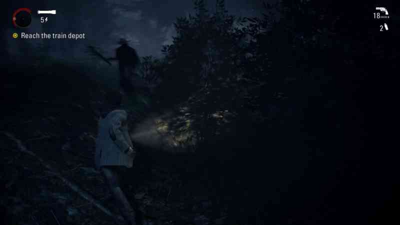 Alan Wake - Enemies will jump out of nowhere