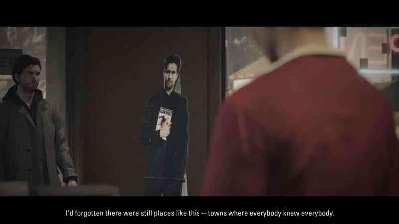 Alan Wake Remastered - Alan always gets recognised