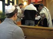 During the Torah Reading