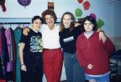 Girls at the Hadassah Bazaar
