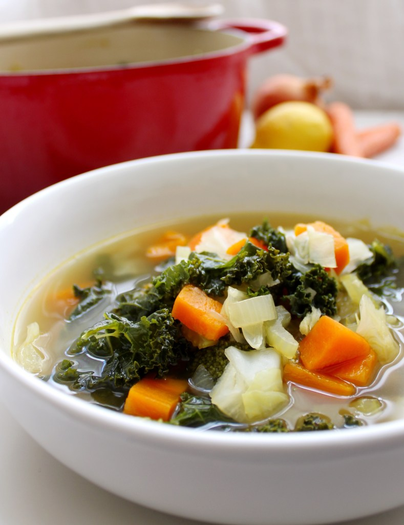 DETOXING VEGGIE SOUP WITH LEMONGRASS AND GINGER THE