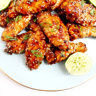 Sweet and Spicy Asian Chicken Wings