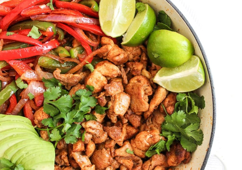 One-Pan Chicken Fajita Skillet