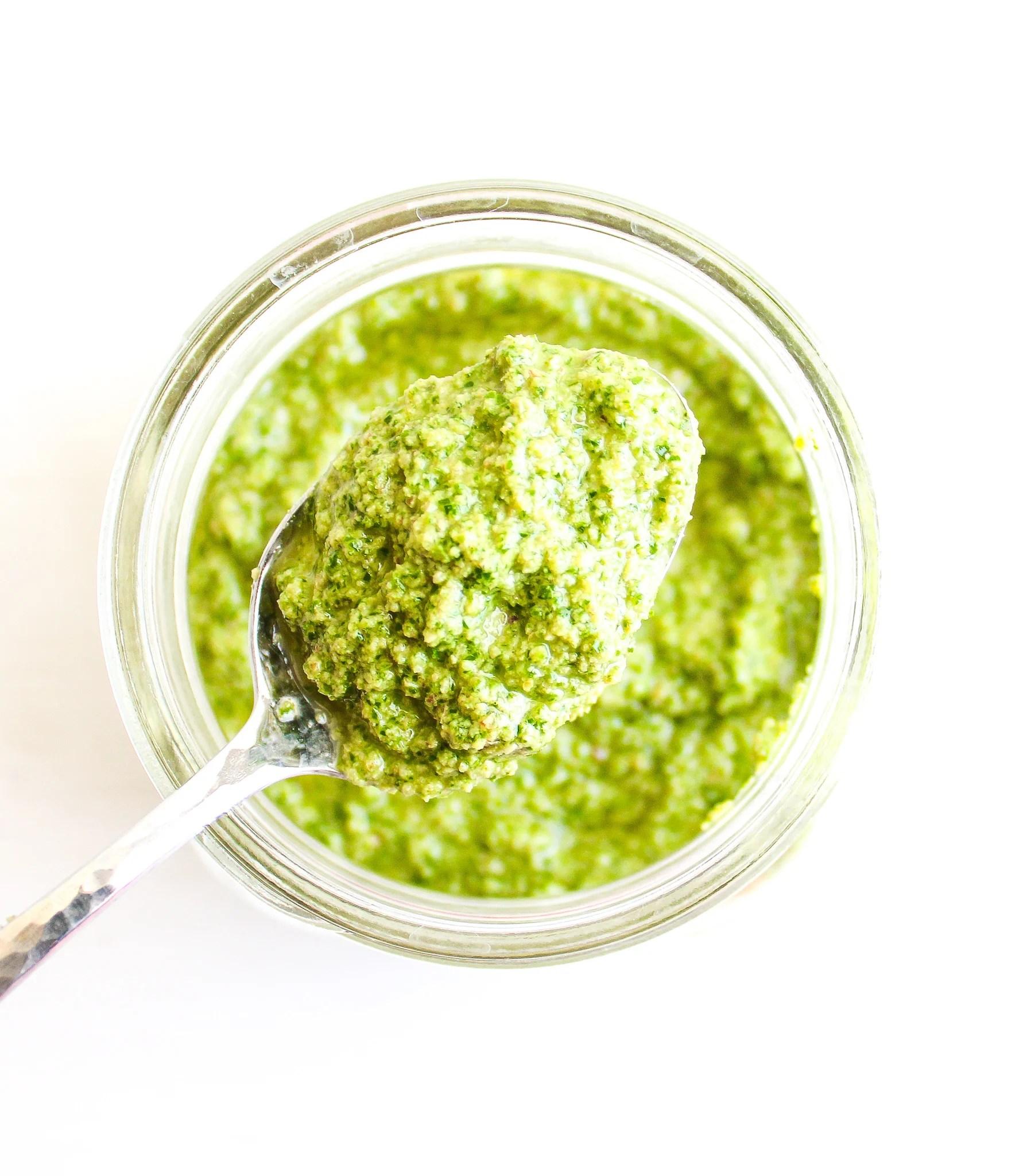Spinach, Arugula & Walnut Pesto