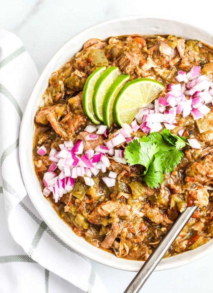 Instant Pot Pork Green Chili