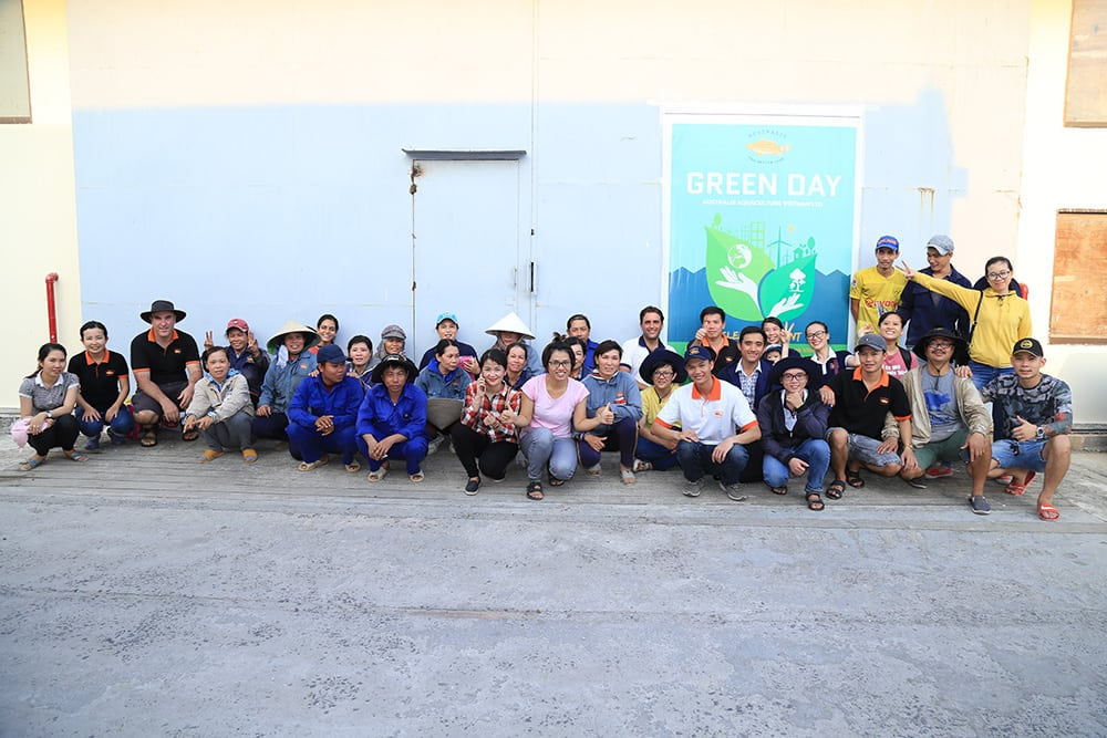 Australis Aquaculture - Vietnam Green Day Clean Up