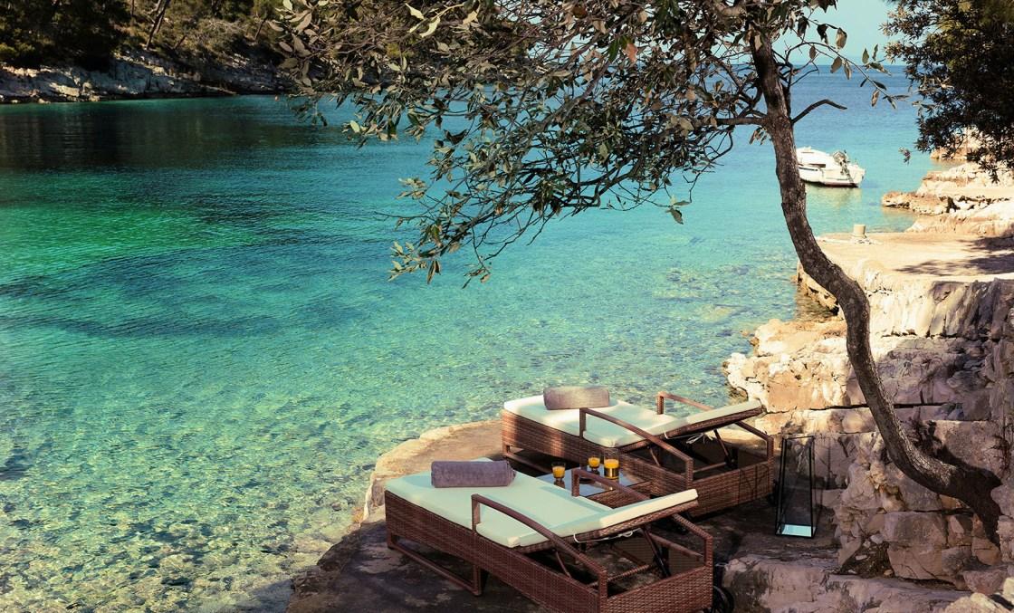 Little Green Bay Boutique Hotel Hvar Croatia The Better Places Travelblog