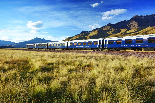 sustainable travel Belmond Andean explorer Peru train travel review
