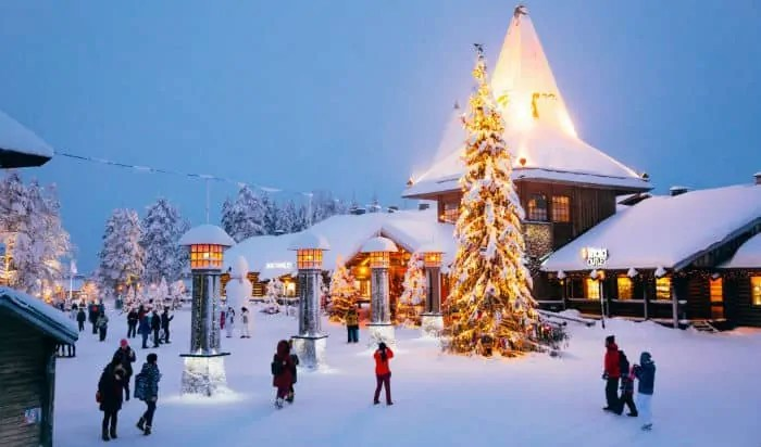 best places for christmas