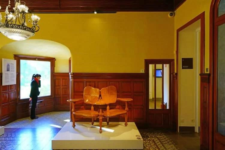 Inside Gaudi House Museum