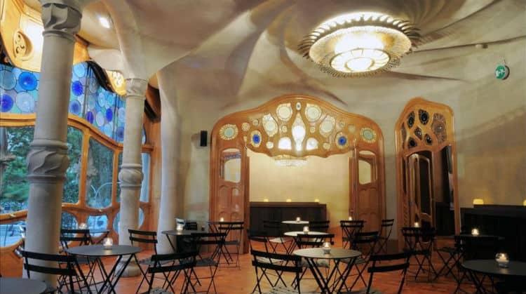 Entrance Noble floor in Casa Batllo