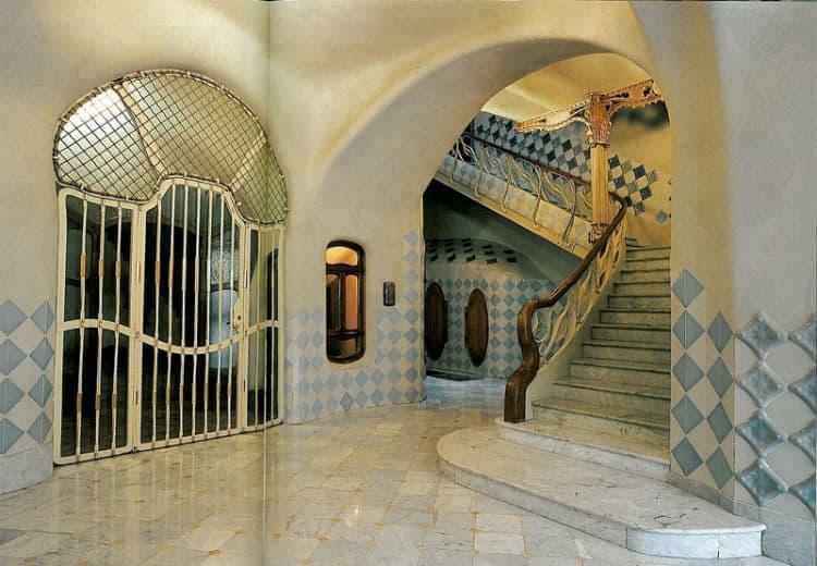 Entrance hall of Casa Batllo