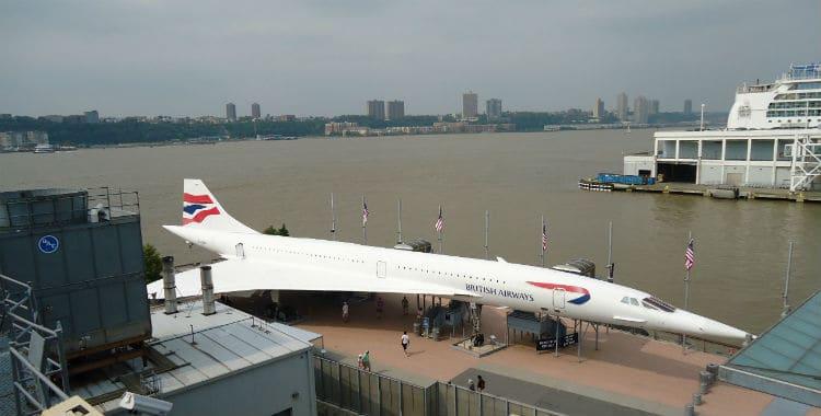 Concorde at Intrepid Museum