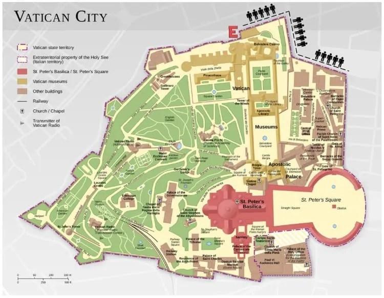 Vatican Museum in Vatican City
