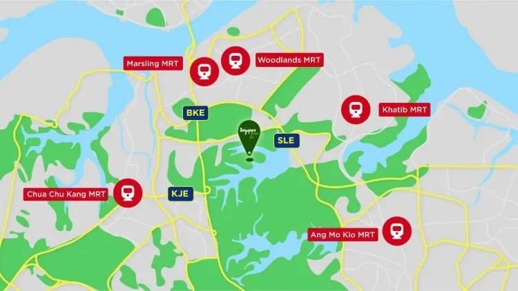 MRT stations near Singapore River Safari