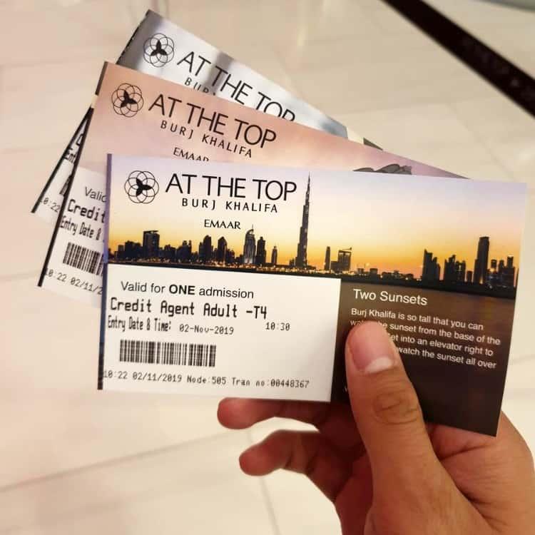 Buy Burj Khalifa tickets