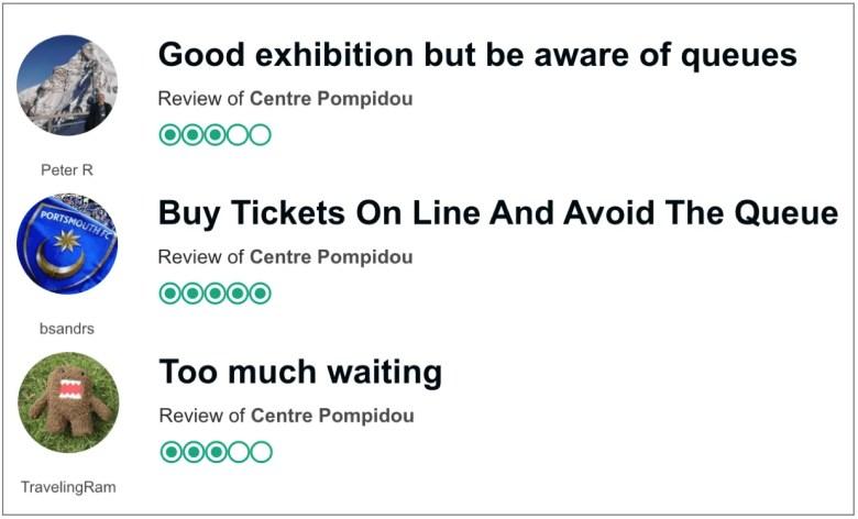 Centre Pompidou Reviews