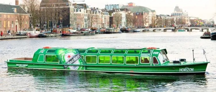 Heineken Experience Canal Cruise