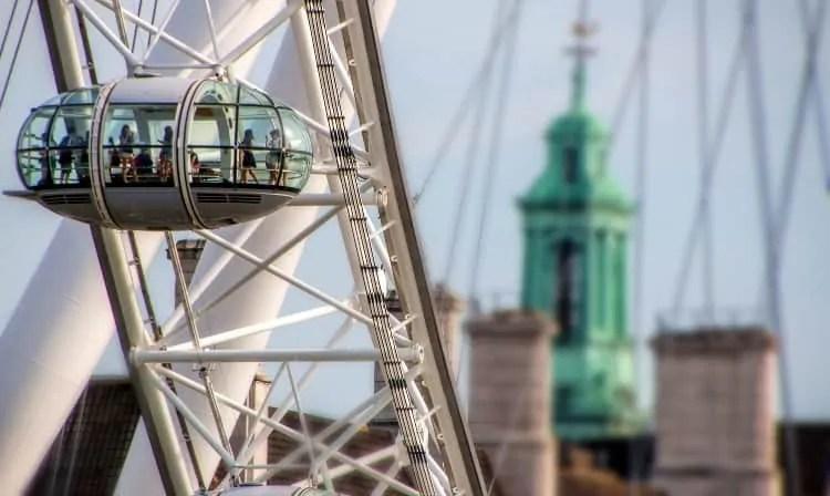 London Eye's Pod