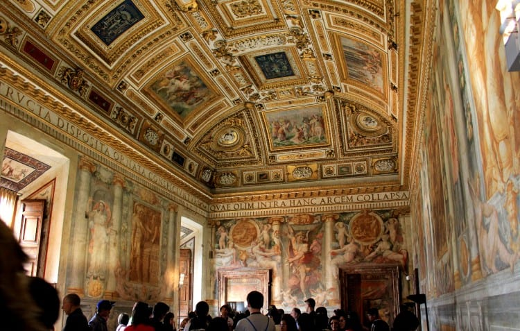 Papal Room in Castel Sant' Angelo