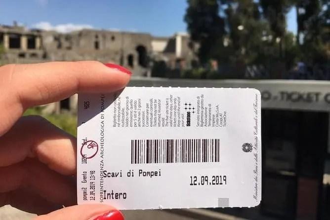 Pompeii Entry Ticket