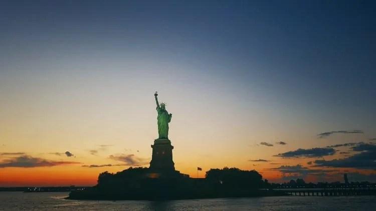 Statue of Liberty Sunset Cruise