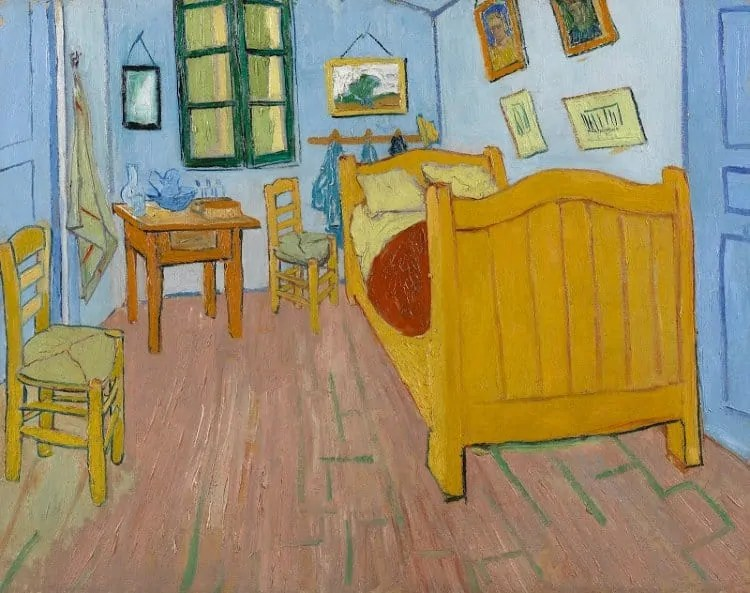 The Bedroom at Van Gogh Museum