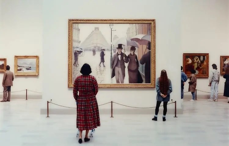 Visiting Art Institute of Chicago