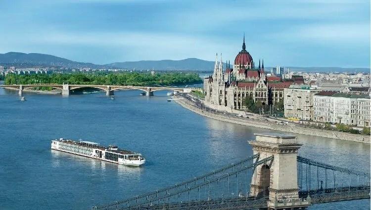 Danube River Cruise in Budapest Hungary