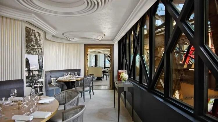 Jules Verne Restaurant, Eiffel Tower