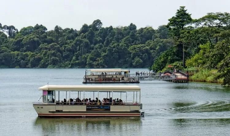 Reservoir Cruise Singapore River Safari