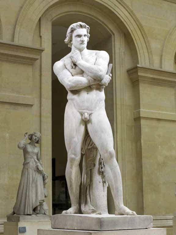 Spartacus at Louvre Museum